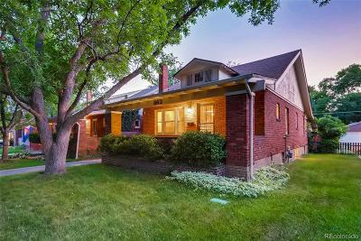 Denver Single Family Home Active: 863 South Race Street