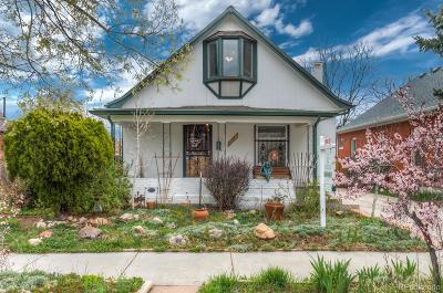 Denver Single Family Home Active: 1442 South Lincoln Street