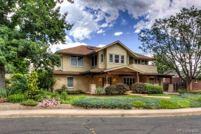Boulder CO Single Family Home Active: $1,895,000