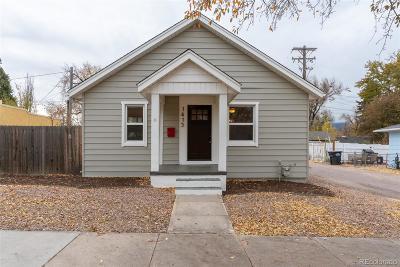 Colorado Springs Single Family Home Active: 1415 East Boulder Street