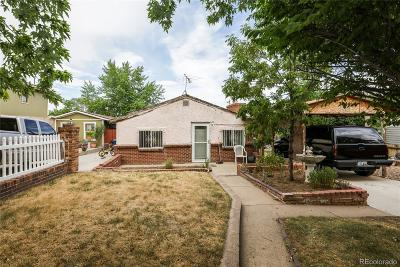 Englewood Single Family Home Active: 3444 South Clay Street