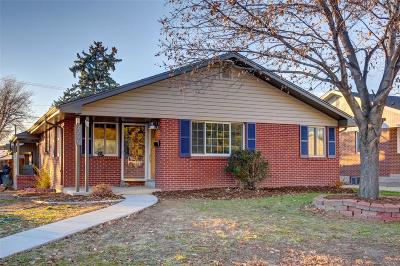Denver Single Family Home Active: 2295 South Birch Street