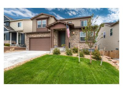 Castle Rock Single Family Home Active: 1815 Ghost Dance Circle