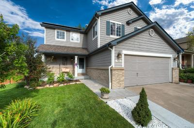 Castle Rock Single Family Home Active: 765 Whispering Oak Drive