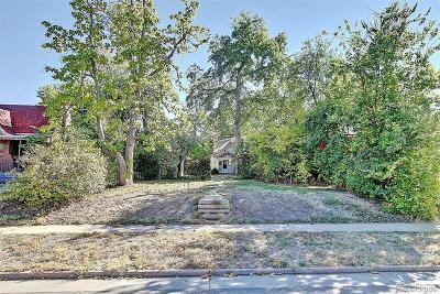 Denver Residential Lots & Land Active: 2916 Birch Street
