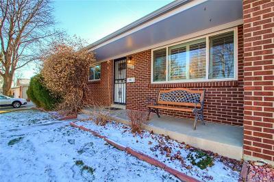 Arvada Single Family Home Active: 6039 Vivian Street