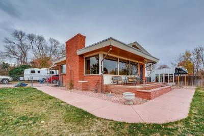 Denver Single Family Home Under Contract: 754 South Alcott Street