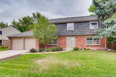 Centennial Single Family Home Active: 8262 East Hunters Hill Drive