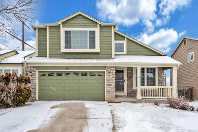 Castle Rock Single Family Home Under Contract: 816 South Carlton Street