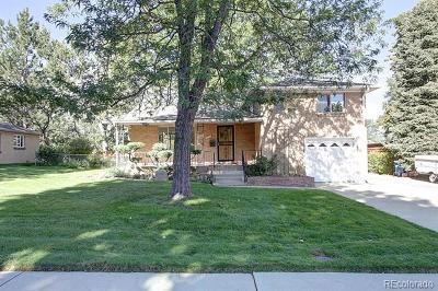 Wheat Ridge Single Family Home Active: 4015 Newland Street