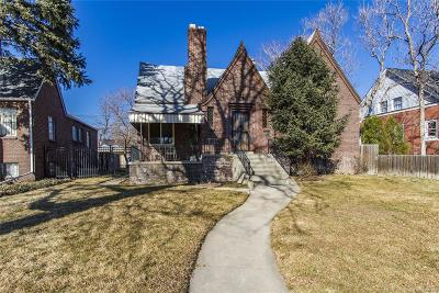 Denver Single Family Home Under Contract: 4535 Federal Boulevard