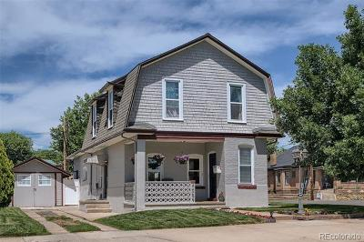 Denver Single Family Home Active: 4059 Shoshone Street