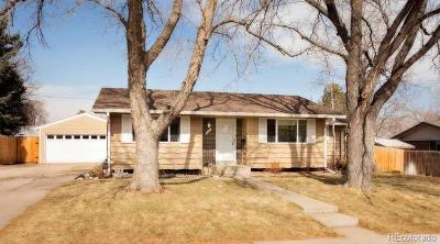 Northglenn Single Family Home Active: 1427 West 101st Place