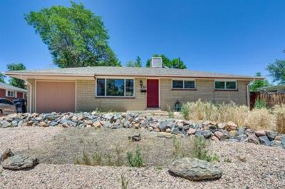 Arvada Single Family Home Active: 8835 Cole Drive