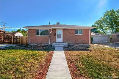 Denver Single Family Home Active: 7888 Durango Street
