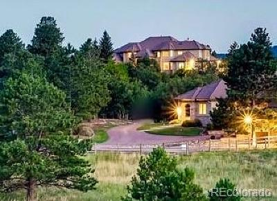 Larkspur CO Single Family Home Active: $4,495,000