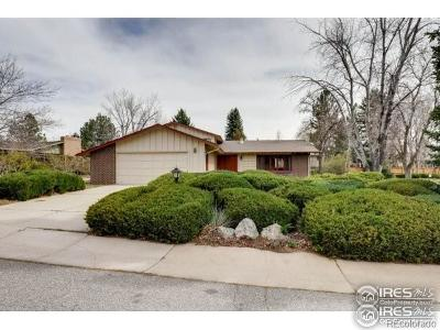 Boulder County Single Family Home Active: 7460 Old Mill Trail
