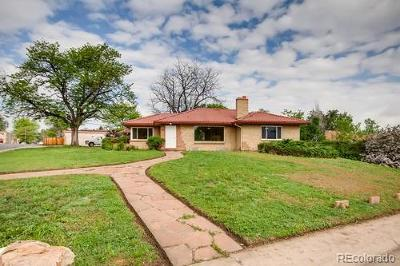 Denver Single Family Home Active: 595 South Zuni Street