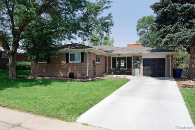 Littleton Single Family Home Active: 3367 West Arlington Avenue