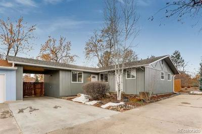 Boulder CO Single Family Home Active: $515,000