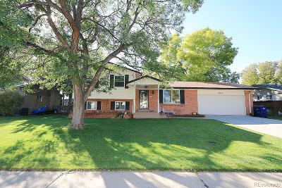 Littleton Single Family Home Active: 5942 West Maplewood Drive