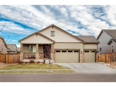 Commerce City Single Family Home Under Contract: 11574 Hannibal Street