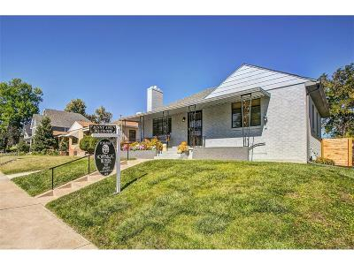 Single Family Home Under Contract: 4545 West Moncrieff Place