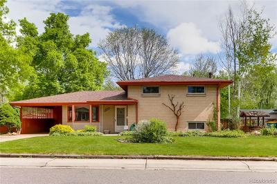 Wheat Ridge Single Family Home Under Contract: 9695 West 41st Avenue