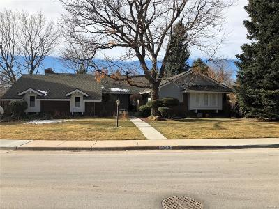 Centennial Single Family Home Under Contract: 6143 South Glencoe Way