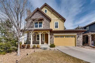 Highlands Ranch Single Family Home Active: 10414 Willowwisp Way