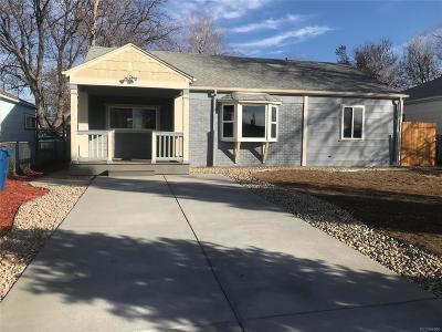 Arapahoe County Single Family Home Active: 1316 Kenton Street