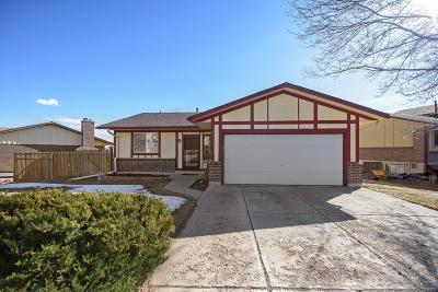 Single Family Home Under Contract: 2109 South Coors Circle