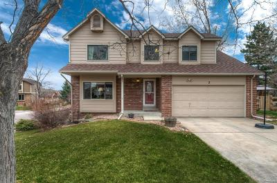 Littleton Single Family Home Active: 2 Claret Ash