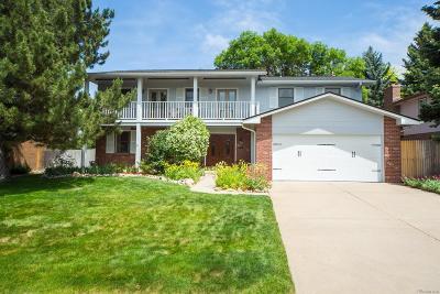 Centennial Single Family Home Active: 7938 South Pontiac Way