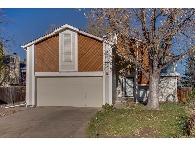 Westminster Single Family Home Under Contract: 9813 Garrison Way