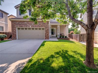 Littleton Single Family Home Under Contract: 8314 South Quay Court
