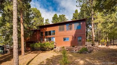 Woodland Park Single Family Home Active: 1110 Forest Hill Road