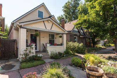 Denver Single Family Home Active: 548 Delaware Street