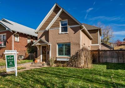 Denver Single Family Home Active: 804 South Emerson Street