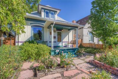 Denver Single Family Home Active: 135 West Bayaud Avenue