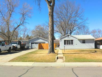 Longmont Single Family Home Under Contract: 1121 Spencer Street