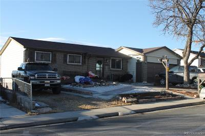 Thornton Single Family Home Under Contract: 1286 Croke Drive