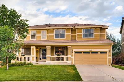 Castle Rock Single Family Home Under Contract: 3402 Springbriar Drive