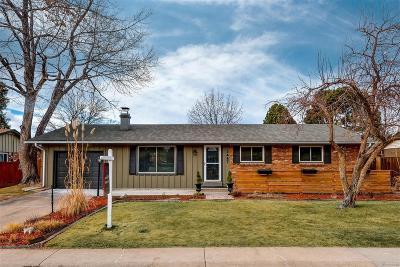 Centennial Single Family Home Under Contract: 3447 East Davies Avenue