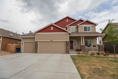 Frederick Single Family Home Under Contract: 6828 Ponderosa Street