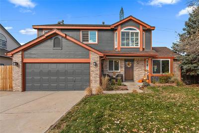 Arvada CO Single Family Home Sold: $550,000