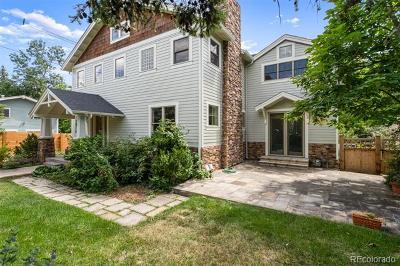 Boulder Single Family Home Active: 1010 Cedar Avenue