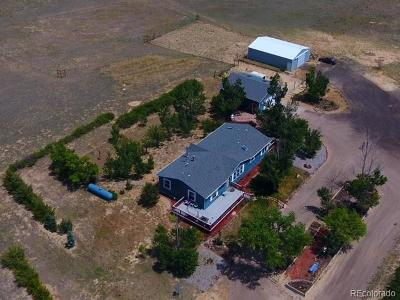 Arapahoe County Single Family Home Under Contract: 71797 East County Road 10