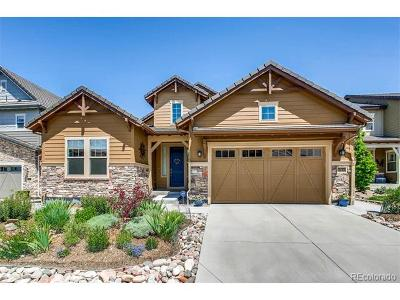 Highlands Ranch Single Family Home Active: 10610 Star Thistle Court