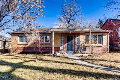Denver Single Family Home Active: 3078 Albion Street